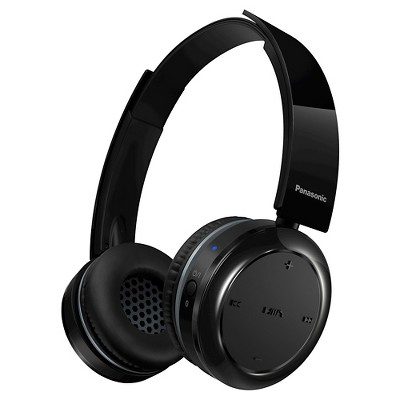 Panasonic Bluetooth Wireless Headphones - Black