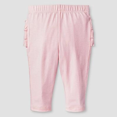 Baby Girls' Sold Ruffle Bum Legging Baby Cat & Jack™ - Pink NB