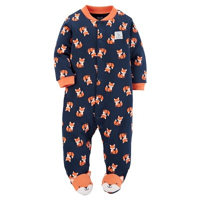 Just One You™Made by Carter's® Baby Boys' Blue Fox Sleep N' Play 9M