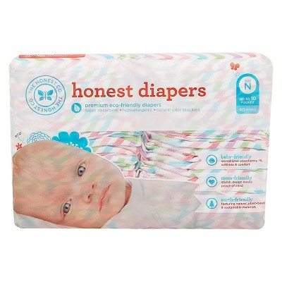 Honest Company  Diapers Chevron - Newborn  (40 Count)