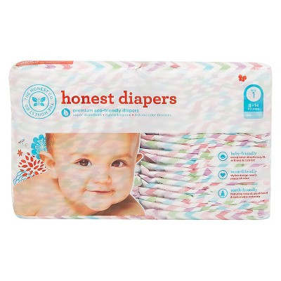 Honest Company  Diapers Chevron - Size 1  (44 Count)