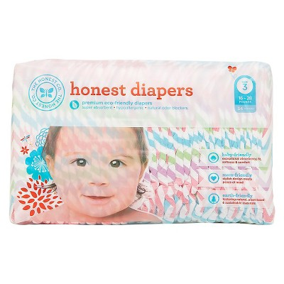 Honest Company  Diapers Chevron - Size 3  (34 Count)
