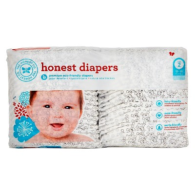 Honest Company Diapers Skulls - Size 2  (40 Count)