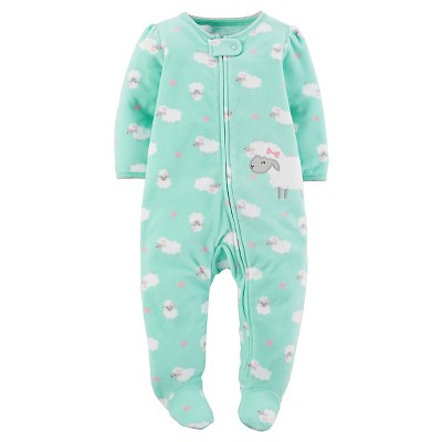 Just One You™Made by Carter's® Baby Girls' Mint Sheep Sleep N' Play 9M
