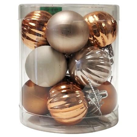 Rattan Ball String Lights Target : Harvest Mini Ornaments - 12ct : Target