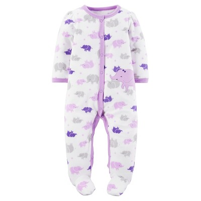 Just One You™Made by Carter's® Baby Girls' Purple Elephant Sleep N' Play 6M