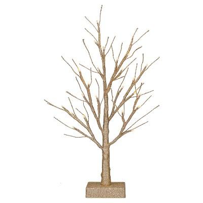 """Harvest Lit Tree - 18"""""""