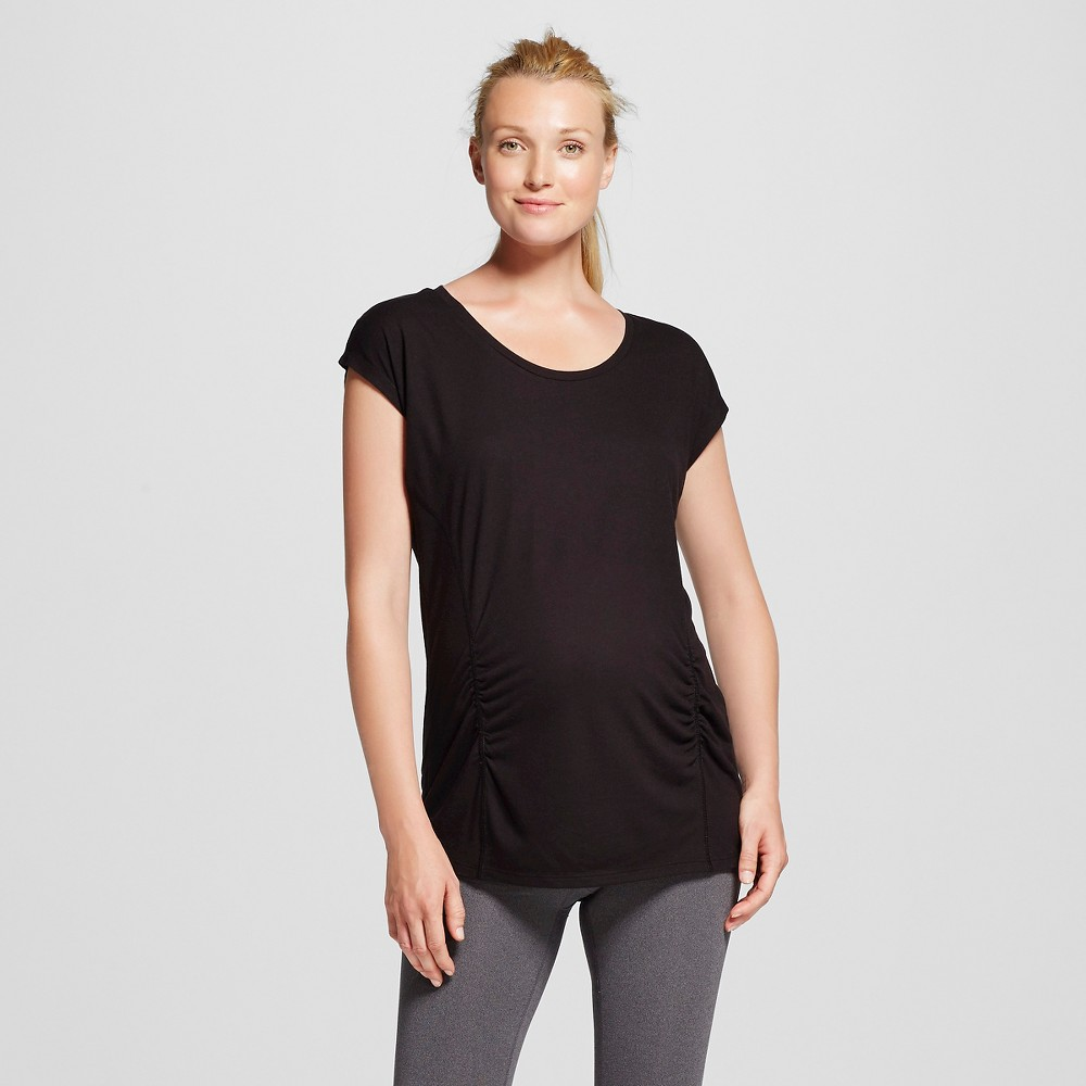 Women's Maternity Active T-Shirt - Black Xxl - C9 Champion, Ebony