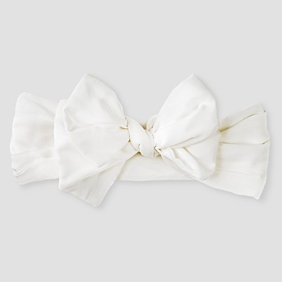 Baby Girls' Bow Headwrap Baby Cat & Jack™ - White