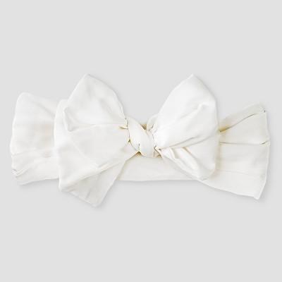 Baby Girls' Bow Headwrap Baby Cat & Jack™ - White