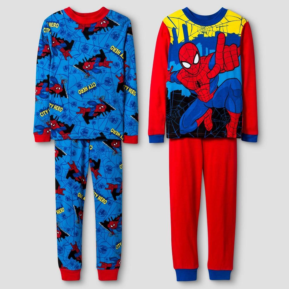 Spider-Man Big Boys' Pajama set - Red 8, Boy's