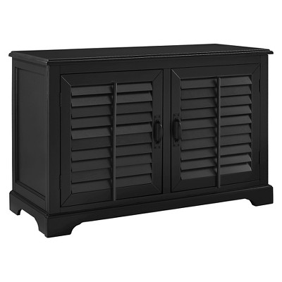 "Sawgrass Full Size TV Stand - Black (50"") - Crosley"