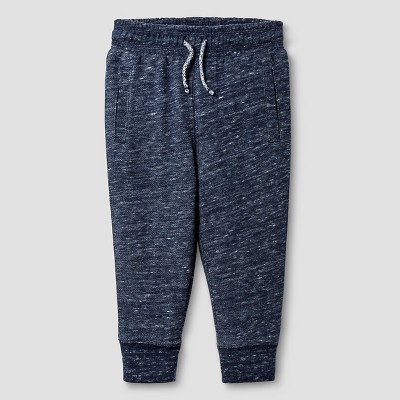 Baby Boys' Jogger Sweatpants Baby Cat & Jack™ - Heather Blue 18 M
