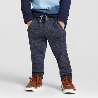 Toddler Boys' Jogger Sweatpants Cat & Jack™ - Heather Blue 2T