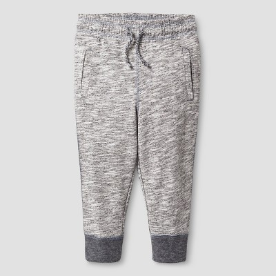 Baby Boys' Jogger Sweatpants Baby Cat & Jack™ - Heather Gray 12 M