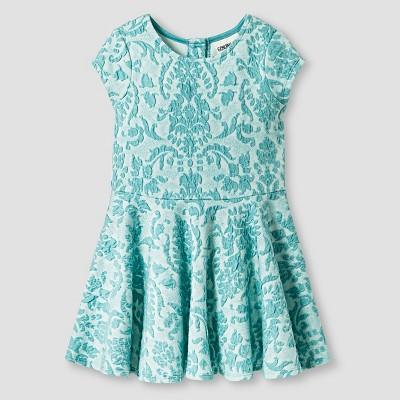 Toddler Girls' Knit Jacquard Dress Blue 5T - Genuine Kids from Oshkosh™