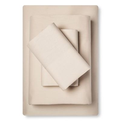 Sheet Set Cotton Linen Blend King Natural