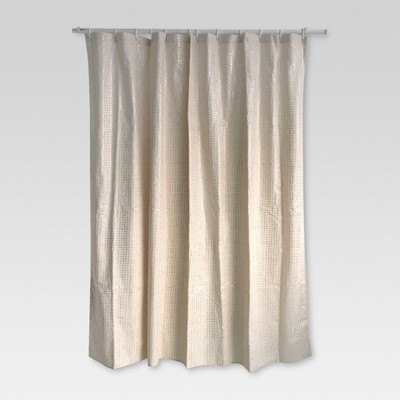 Shower Curtain - Metallic Gold Print - Threshold™