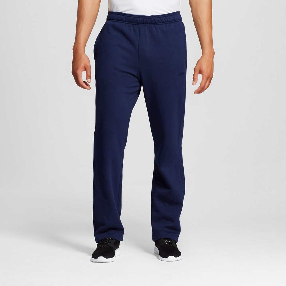 Men's Fleece Sweatpants Navy Xxl - C9 Champion, Dark Night Blue