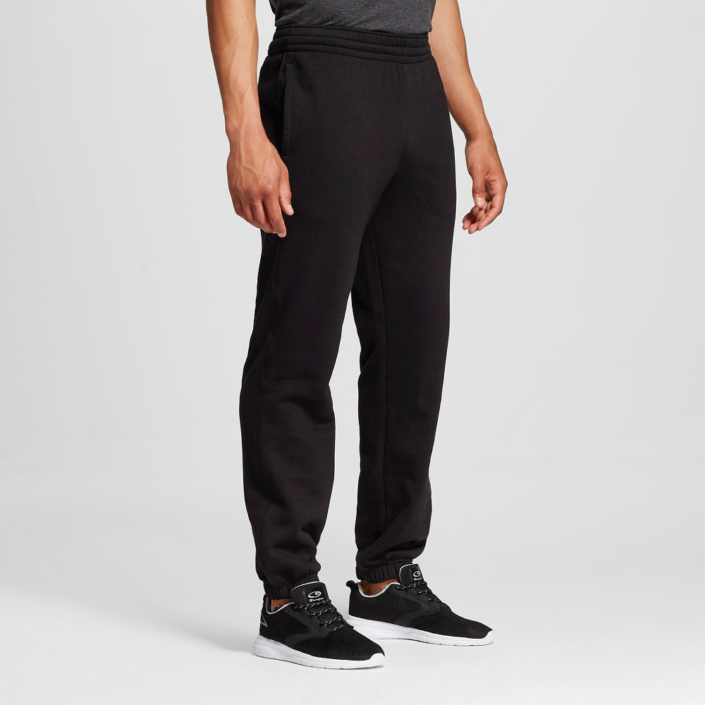 Men's Old School Sweatpants Black Xxl - C9 Champion, Ebony