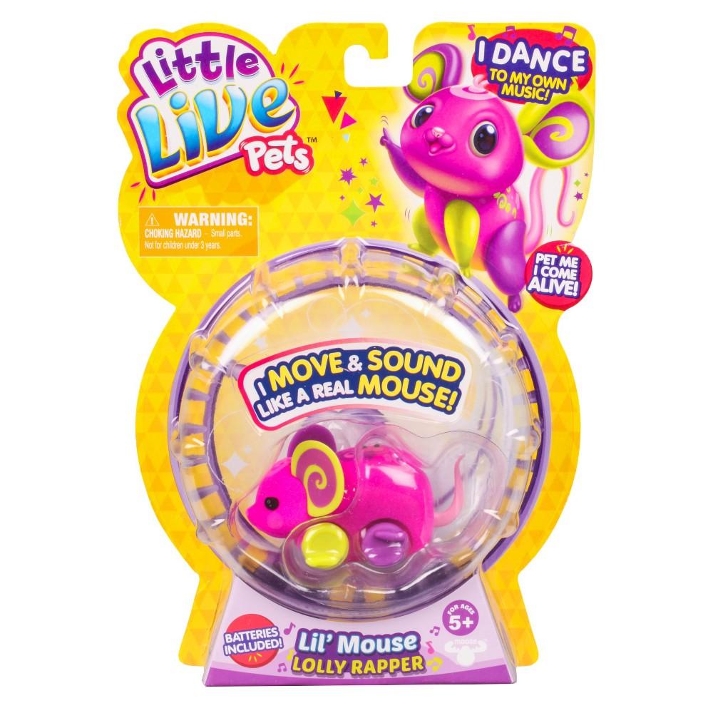 Little Live Pets Lil' Mouse - Lolly Rapper
