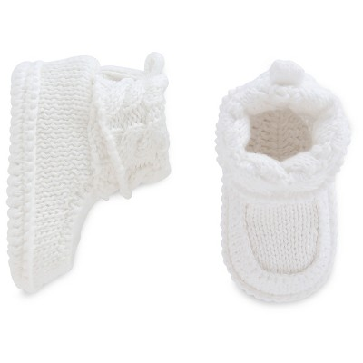 Just One You™Made by Carter's® Baby White Crocheted Booties - NB