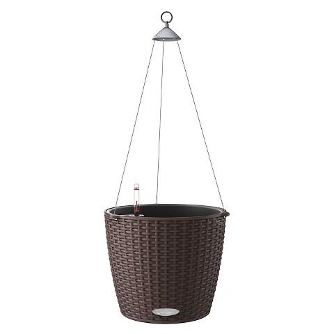 Lechuza nido self watering hanging basket planter target - Lechuza self watering planter ...