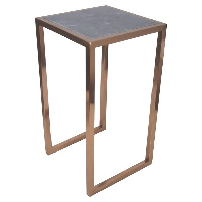 Accent Table Marble and Copper Green - Threshold™