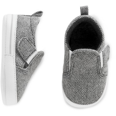 Just One You™Made by Carter's® Baby Boys' Grey Slip-on Sneaker Sz1
