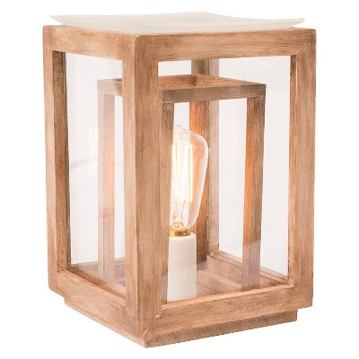 Ador™ Decorative Candle Warmer - Wood Lantern