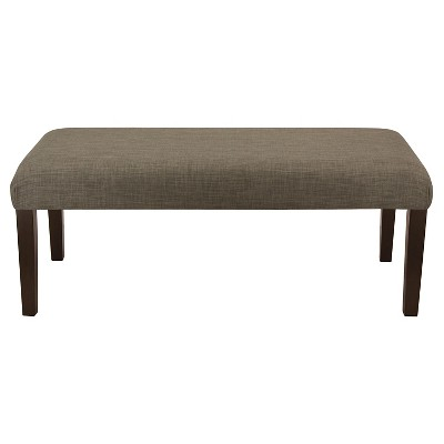 Parker Upholstered Dining Bench - Brown - Threshold™