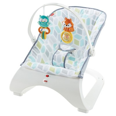 Fisher-Price Comfort Curve Bouncer - Curvy Teal