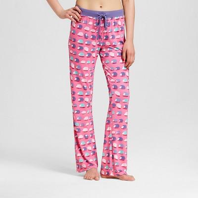 Nite Nite Munki Munki® Women's Hedgehog Pajama Pant - Pink L