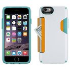 iPhone 6/6S Cases - Speck CandyShell Card Slot - White/Green