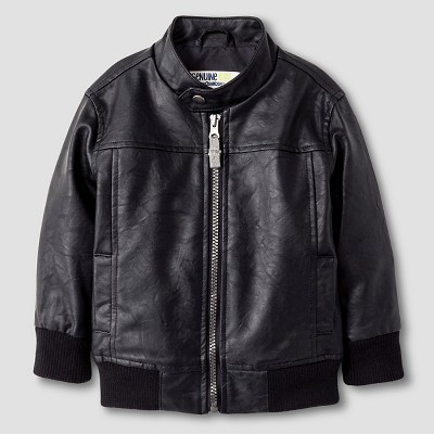 Baby Boys' Fashion Jacket - Ebony 12M - Genuine Kids™ from Oshkosh®