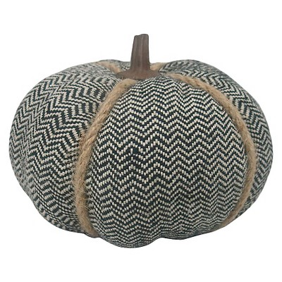 Harvest Herringbone Pumpkin - Small