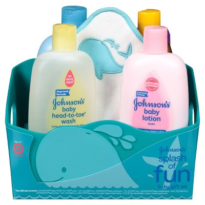 Johnson's® Splash of Fun Baby Gift Set