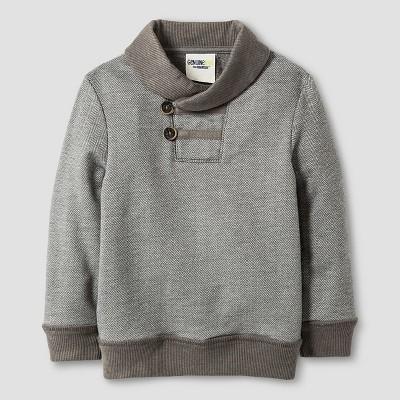 Toddler Boys' Shawl Collar Pullover - Radiant Gray 3T - Genuine Kids™ from Oshkosh®