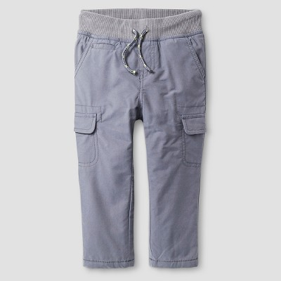 Baby Boys' Jersey Lined Pant Gray 18 M - Cat & Jack™