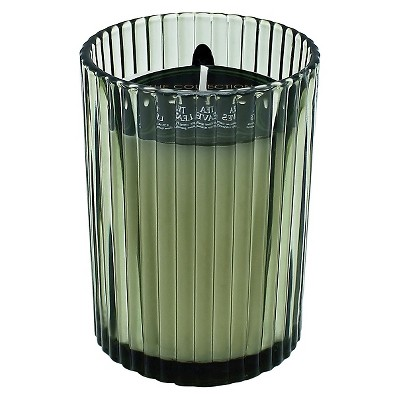 Jar Candle Ribbed Glass - Green - THE Collection by Chesapeake Bay