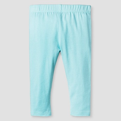 Baby Girls' Solid Legging Baby Cat & Jack™ - Turquoise NB