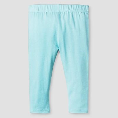 Baby Girls' Solid Legging Baby Cat & Jack™ - Turquoise NB