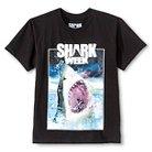 Boys' Shark Week Jaws Graphic Tee Black XS