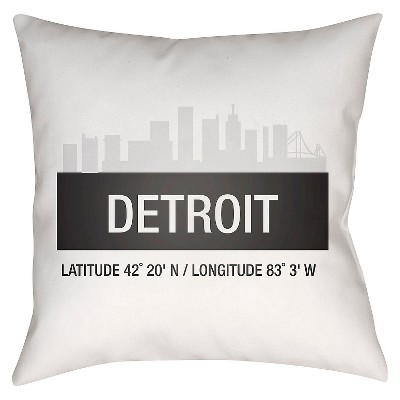Decorative Pillow Surya White