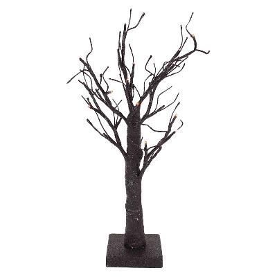 "Halloween Lit Tree - 18"""