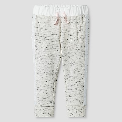 Baby Girls' Cozy Jogger Pant Cream 12M - Cat & Jack™