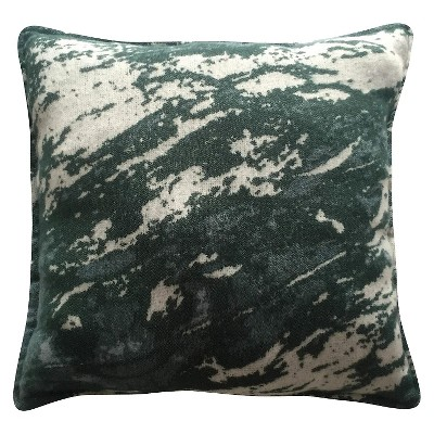 "Marbled Pillow Green (18""x18"") - Threshold™"