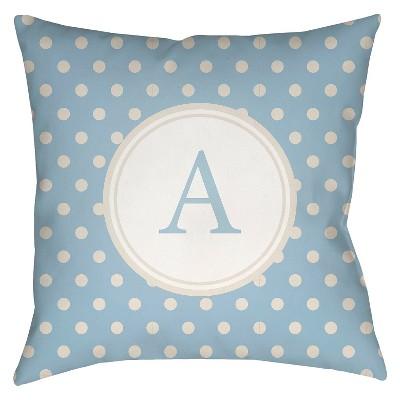Decorative Pillow Surya Lite Blue