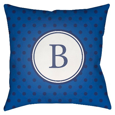 Decorative Pillow Surya Royal Blue