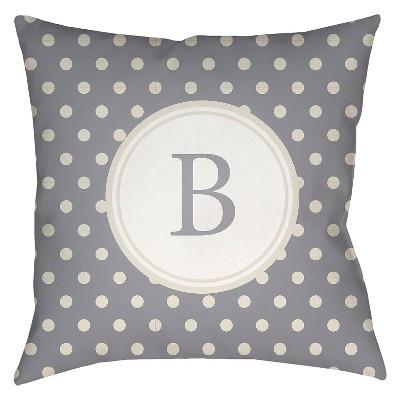 Decorative Pillow Surya Grey
